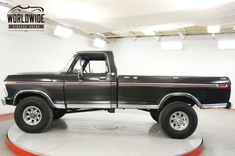 1976 Ford F250 460V8 4-SPEED 4X4 PS PB MUST SEE | Denver, CO | Worldwide Vintage Autos in Denver, CO