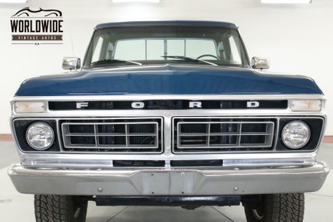1976 Ford F250 BIG BLOCK 460 CID V8 AUTO PS PB FRONT | Denver, CO | Worldwide Vintage Autos in Denver, CO