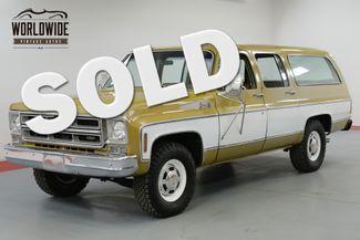 1976 GMC SUBURBAN RARE COLLECTOR TIME CAPSULE    Denver, CO   Worldwide Vintage Autos in Denver CO