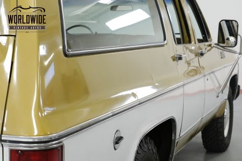 1976 GMC SUBURBAN RARE COLLECTOR TIME CAPSULE  | Denver, CO | Worldwide Vintage Autos in Denver, CO