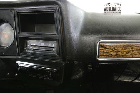 1976 GMC TRUCK K10. HIGH SIERRA. SHORT BED 4x4. CHEVY    Denver, CO   Worldwide Vintage Autos in Denver, CO