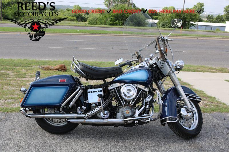 1976 Harley Davidson FLH 1200    Hurst, Texas   Reed's Motorcycles in Hurst Texas