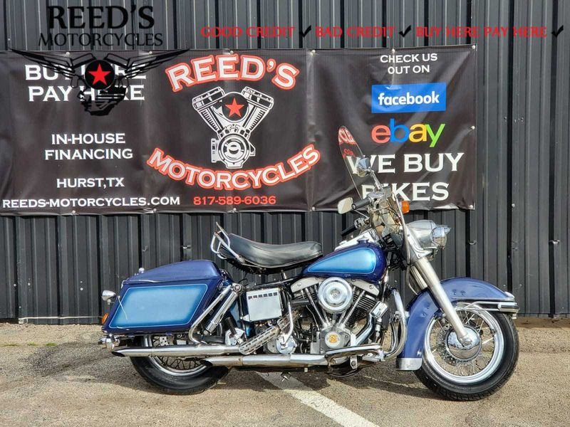 1976 Harley Davidson FLH 1200 REEDS COLLECTION   Hurst, Texas   Reed's Motorcycles in Hurst Texas