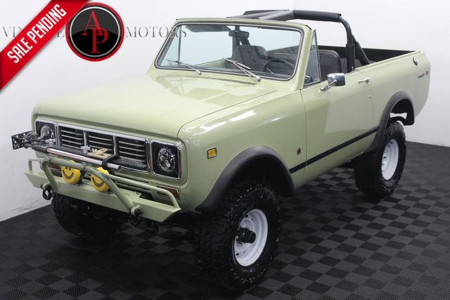 1976 International Scout II 345 V8 4X4 2 TOPS