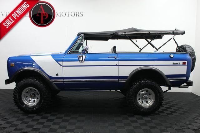 1976 International Scout II RALLYE STRIPES V8 4X4