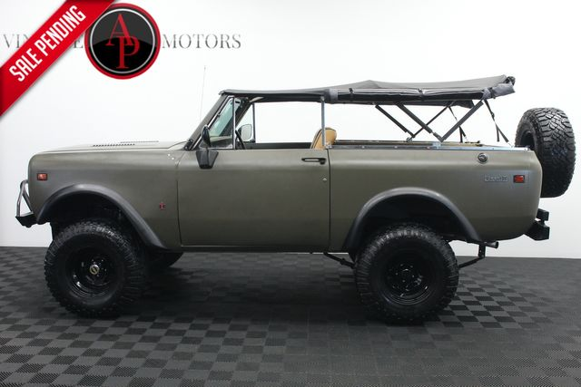 1976 International SCOUT FRAME OFF RESTO WITH AC