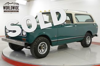 1976 International TRAVELER SCOUT 4x4 CONVERTIBLE AUTO AC!! V8 PS PB  | Denver, CO | Worldwide Vintage Autos in Denver CO