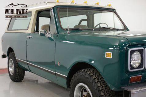 1976 International TRAVELER SCOUT 4x4 CONVERTIBLE AUTO AC!! V8 PS PB  | Denver, CO | Worldwide Vintage Autos in Denver, CO