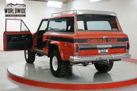 1976 Jeep CHEROKEE CHIEF RARE Z CODE 401 V8 COLLECTOR MODERN AC    Denver, CO   Worldwide Vintage Autos in Denver, CO