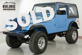 1976 Jeep CJ7  RESTORED PS PB REMOVEABLE HARDTOP LIFTED | Denver, CO | Worldwide Vintage Autos in Denver CO