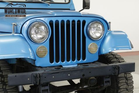 1976 Jeep CJ7  RESTORED PS PB REMOVEABLE HARDTOP LIFTED | Denver, CO | Worldwide Vintage Autos in Denver, CO