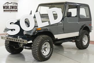 1976 Jeep CJ7  304 V8 LIFT KIT 4X4 PS HARD TOP | Denver, CO | Worldwide Vintage Autos in Denver CO