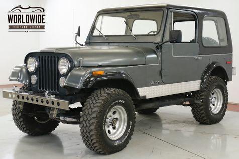 1976 Jeep CJ7  304 V8 LIFT KIT 4X4 PS HARD TOP   Denver, CO   Worldwide Vintage Autos in Denver, CO