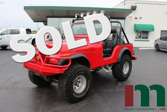 1976 Jeep CJ5  | Granite City, Illinois | MasterCars Company Inc. in Granite City Illinois