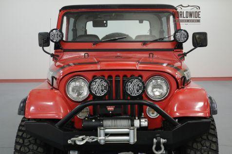 1976 Jeep CJ7 304V8 AUTO 4X4 REMOVABLE HARD TOP | Denver, CO | Worldwide Vintage Autos in Denver, CO