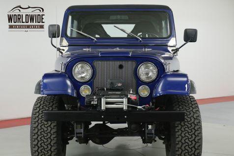 1976 Jeep CJ7  4X4. RARE FIRST YEAR MODEL. 4x4. HARDTOP  | Denver, CO | Worldwide Vintage Autos in Denver, CO