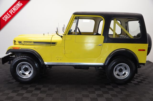 1976 Jeep CJ7 ONE OWNER RENEGADE V8 AUTO PS