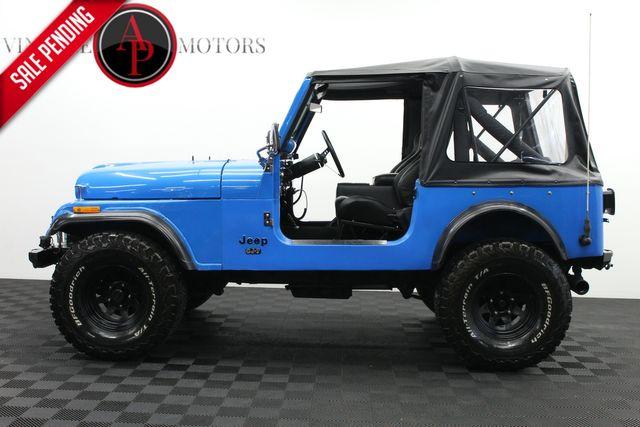 1976 Jeep CJ7 SOFT TOP WINCH ROLL BAR