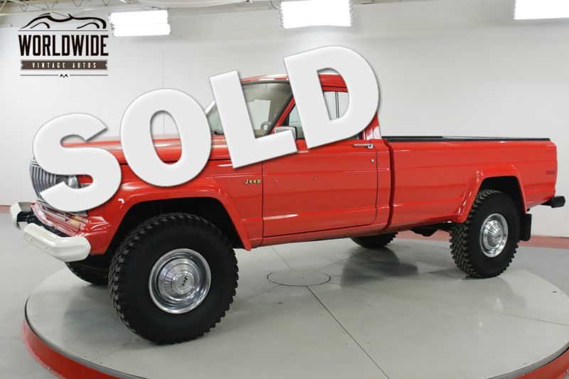 1976 Jeep GLADIATOR  4X4 401V8 AUTOMATIC RESTORED A/C MUST SEE   Denver, CO   Worldwide Vintage Autos