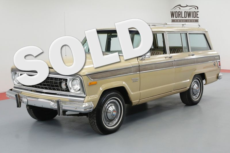 1976 Jeep WAGONEER TWO OWNER ALL ORIGINAL 88K. AC! | Denver, CO | Worldwide Vintage Autos