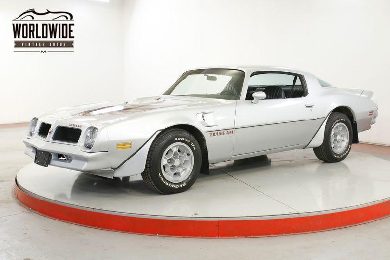 1976 Pontiac FIREBIRD RARE TRANS AM 39K ORIGINAL MI V8 COLLECTOR  | Denver, CO | Worldwide Vintage Autos