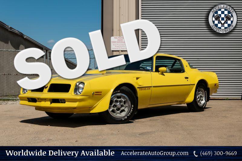 1976 Pontiac Firebird Trans Am 1 Owner in Rowlett Texas