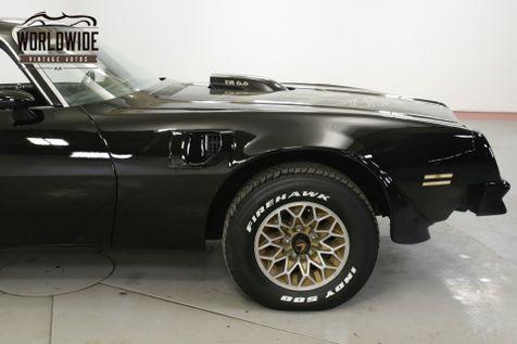 1976 Pontiac TRANS AM RARE 4 SPEED BLACK/BLACK V8 NEW PAINT BANDIT | Denver, CO | Worldwide Vintage Autos in Denver, CO