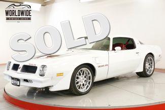 1976 Pontiac TRANS AM 455 FUEL INJECTED V8 5SPD PRO TOURING AC   Denver, CO   Worldwide Vintage Autos in Denver CO