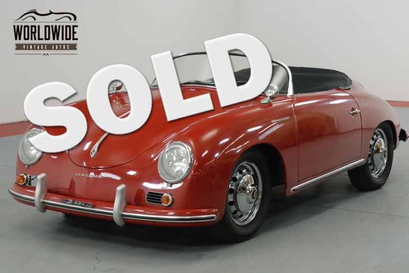 1957 Porsche SPEEDSTER 356. 4 WHEEL DISC BRAKES. 2100 CC. REPLICA  | Denver, CO | Worldwide Vintage Autos