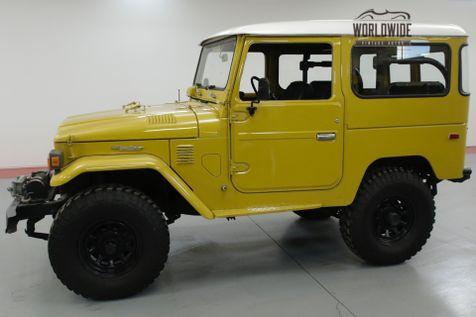 1976 Toyota FJ40 RESTORED. RARE FULL HARD TOP. RARE COLOR. CLEAN   Denver, CO   Worldwide Vintage Autos in Denver, CO