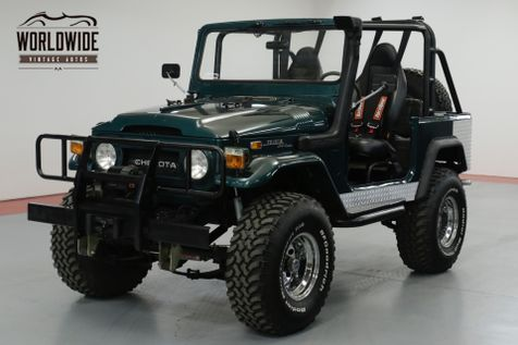 1976 Toyota LAND CRUISER FJ40 RESTORED CUSTOM V8! PS PB SNORKEL WINCH  | Denver, CO | Worldwide Vintage Autos in Denver, CO