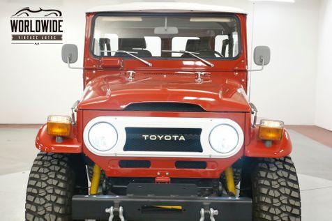 1976 Toyota LAND CRUISER PB 4SPD AFTERMARKET CONSOLE BUCKET SEATS  | Denver, CO | Worldwide Vintage Autos in Denver, CO