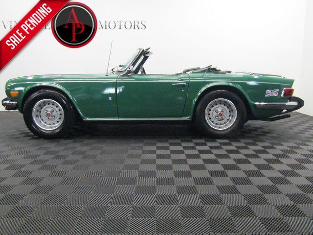 1976 Triumph TR6 OVERDRIVE 82K