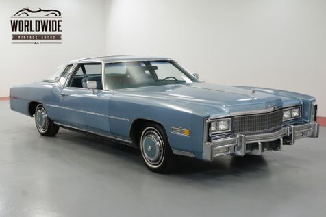 1977 Cadillac ELDORADO LOW ACTUAL MILES  | Denver, CO | Worldwide Vintage Autos in Denver, CO