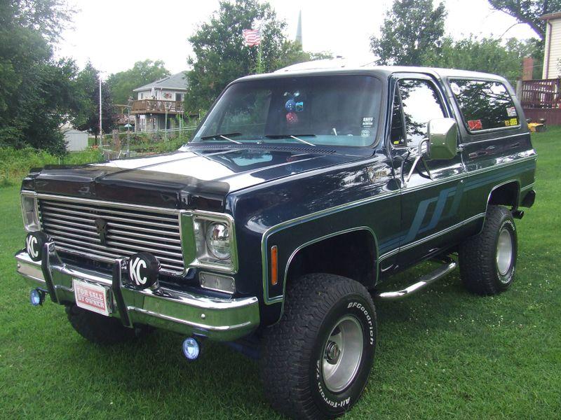 1977 Chevrolet Blazer    Mokena, Illinois   Classic Cars America LLC in Mokena Illinois