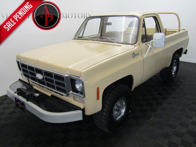 1977 Chevrolet Blazer CUSTOM DELUXE V8 AC AUTO