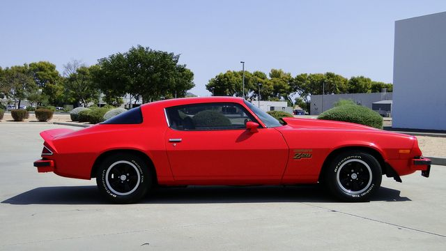 1977 Chevrolet CAMARO Z/28 4 SPEED A/C  SPORT COUPE Phoenix, Arizona 8