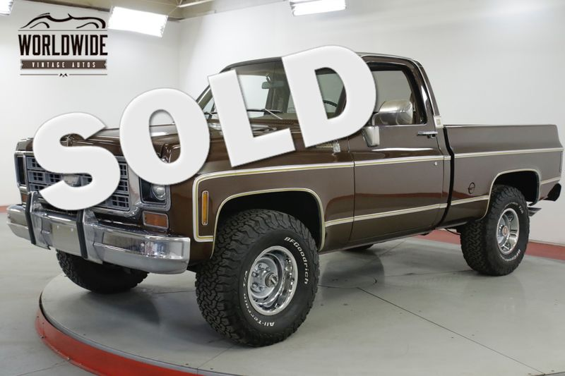1977 Chevrolet K10 SHORT BED 4x4! COLLECTOR SQUARE BODY | Denver, CO | Worldwide Vintage Autos