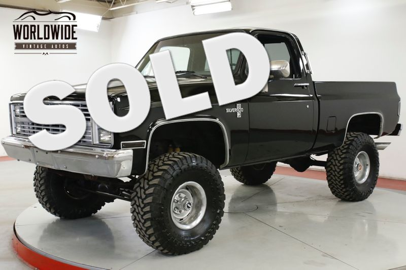 1977 Chevrolet K10 4x4 SQUARE BODY SHORT BED RALLY V8 MANUAL | Denver, CO | Worldwide Vintage Autos