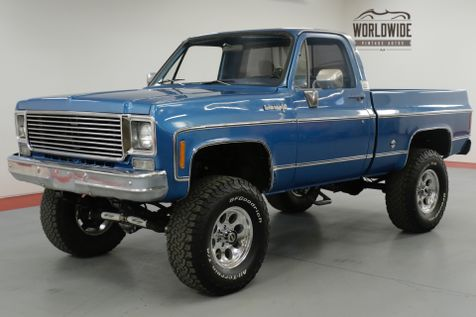 1977 Chevrolet TRUCK K10. RESTORED. 350 V8 PS. PB. 4x4 SHORT BED! | Denver, CO | Worldwide Vintage Autos in Denver, CO