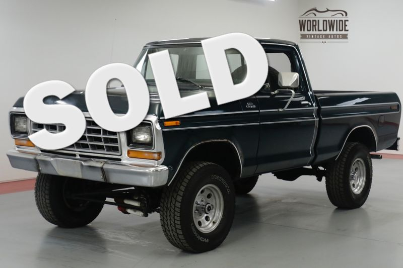1977 Ford F150 TRUCK. TIME CAPSULE. COLLECTOR 4x4. V8! PS! | Denver, CO | Worldwide Vintage Autos
