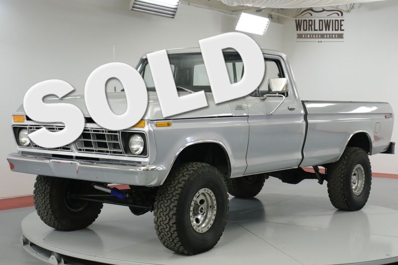 1977 Ford F150  4x4! BEAUTIFULLY RESTORED. PS. PB. | Denver, CO | Worldwide Vintage Autos