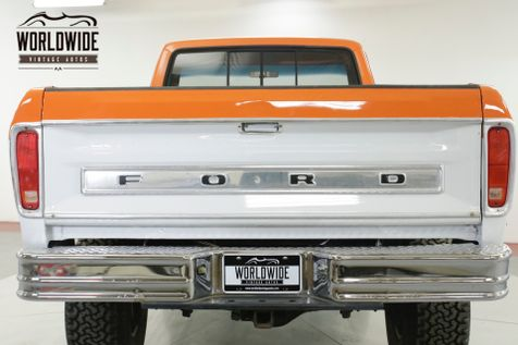 1977 Ford F150 CUSTOM CAB 351 V8 AUTO 4X4 PS PB LIFT KIT | Denver, CO | Worldwide Vintage Autos in Denver, CO