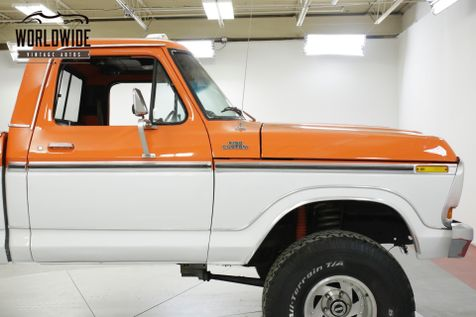 1977 Ford F150 CUSTOM CAB 351 V8 AUTO 4X4 PS PB LIFT KIT | Denver, CO | Worldwide Vintage Autos in Denver, CO