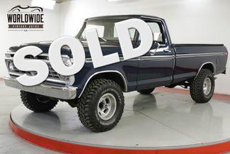 1977 Ford F150 RESTORED 4x4 V8 PS PB CHROME 500 MILES | Denver, CO | Worldwide Vintage Autos in Denver CO