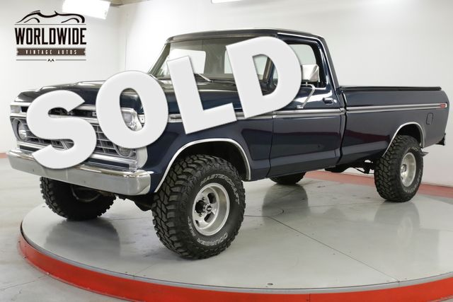1977 Ford F150 RESTORED 4x4 V8 PS PB CHROME 500 MILES | Denver, CO | Worldwide Vintage Autos in Denver CO