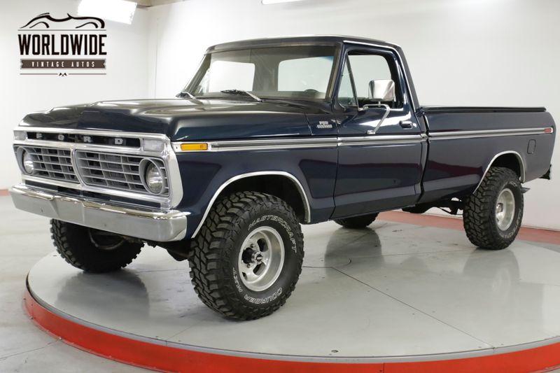 1977 Ford F150 RESTORED 4x4 V8 PS PB CHROME 500 MILES | Denver, CO | Worldwide Vintage Autos