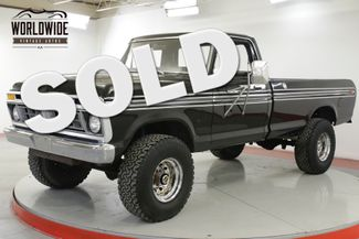 1977 Ford F250 HIGH BOY 4x4. TWO OWNER! V8 PS PB LOW MILES  | Denver, CO | Worldwide Vintage Autos in Denver CO