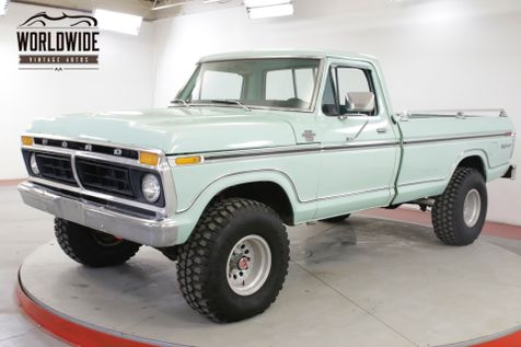 1977 Ford F250 EXPLORER PACKAGE 351M AUTOMATIC 4X4 PS PB | Denver, CO | Worldwide Vintage Autos in Denver, CO