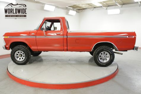 1977 Ford F250 400 V8 AUTO 4X4 FRONT DISC PS PB A/C | Denver, CO | Worldwide Vintage Autos in Denver, CO